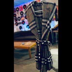 UMA CORE Plaid Wrap Vest